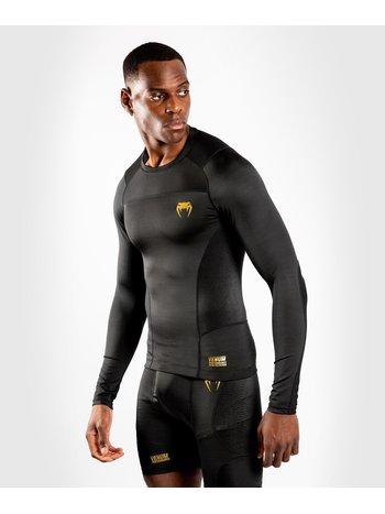 Venum Venum Rash Guard Compression ShirtG-Fit L/S Black Gold