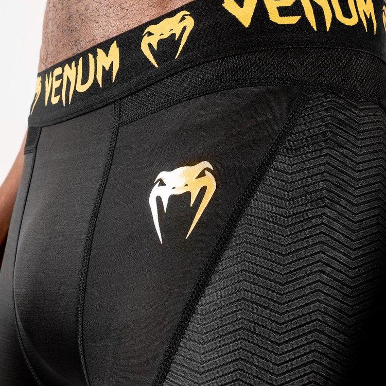Venum Venum legging G-Fit Compressiebroek Zwart Goud
