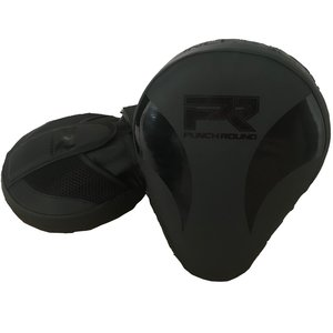 Punch Round™  Punch Round Slam PRO Hand Pads Focus Mitts Black