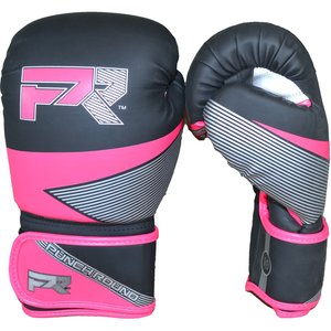 Punch Round™  Punch Round Evoke Boxing Gloves Black Pink