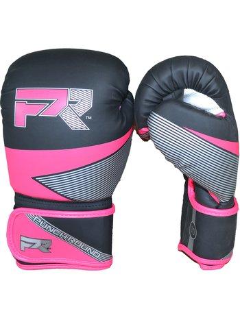 Punch Round™  Punch Round Bokshandschoenen Evoke Zwart Roze