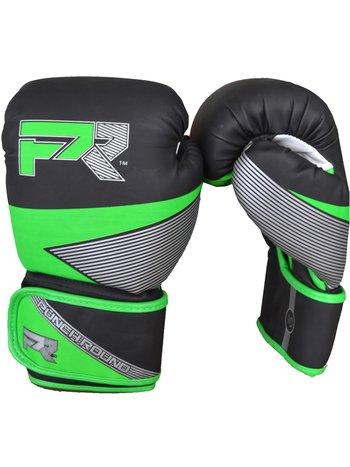 PunchR™  Punch Round Bokshandschoenen Evoke Zwart Groen