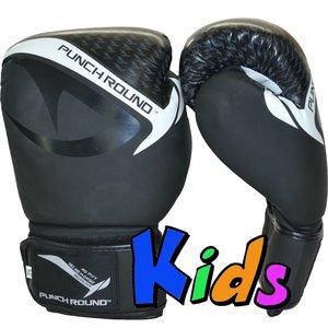 Punch Round™  Punch Round No-Fear Bokshandschoenen Kids Zwart