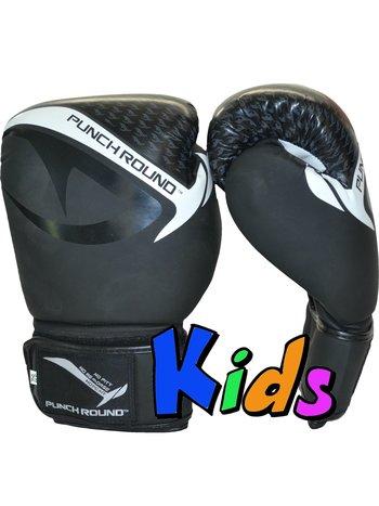 PunchR™  Punch Round No-Fear Boxhandschuhe Kinder Schwarz