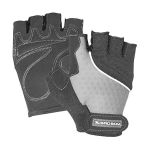 Bad Boy Bad Boy Weight Lifting Fitness Gloves Black Silver