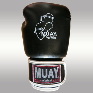 MUAY® MUAY Kids Boxhandschuhe Kunstleder Schwarz Weiß
