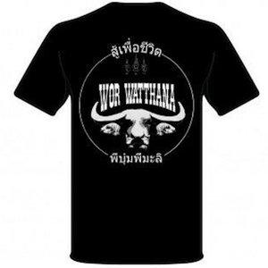 Booster Booster Wor Whattana T Shirt Black Martial Arts Shop Online