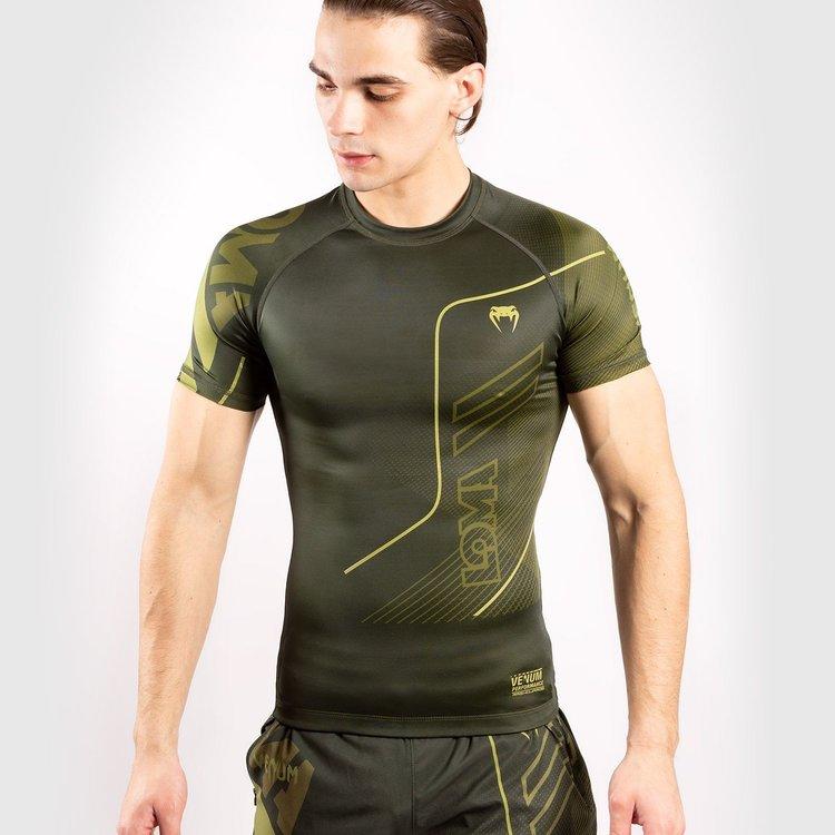 Venum Venum LOMA Commando Kurzarm Rashguard Khaki