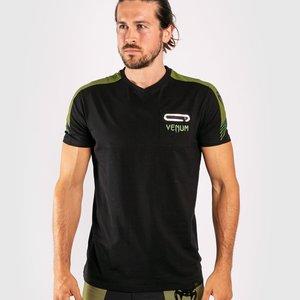 Venum Venum T-shirt Cargo Zwart Groen