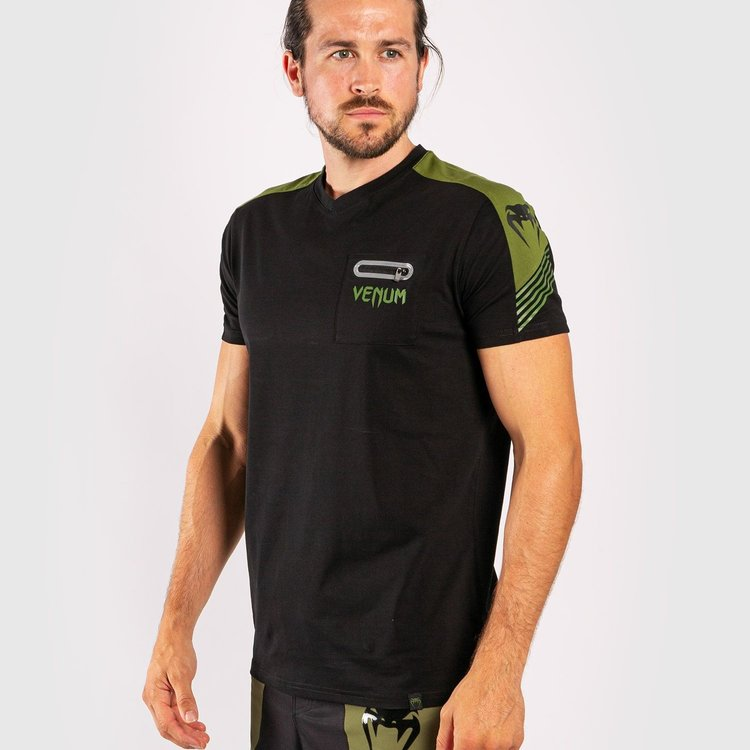 Venum Venum T-Shirt Cargo Schwarz Grün Venum Fightwear Company