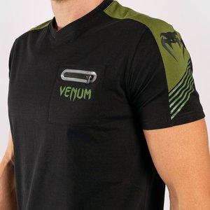 Venum Venum T Shirt Cargo Black Green Venum Fightwear Company