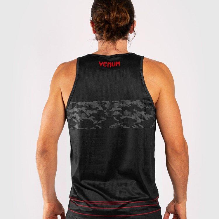Venum Venum Shirt Trooper Tank Top Camo Zwart Rood