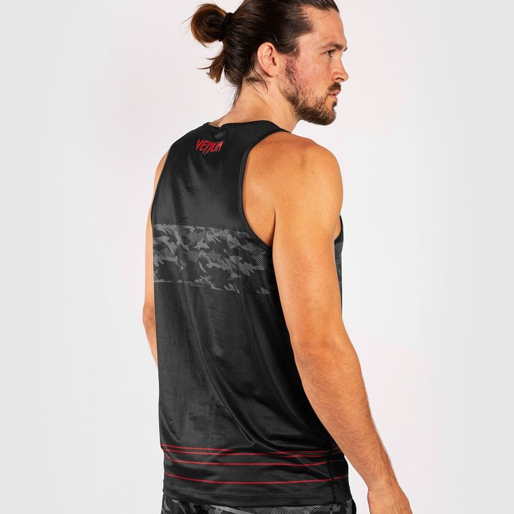 Venum Venum Shirt Trooper Tank Top Camo Black Red