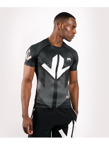 Venum Venum Arrow Rash Guard Korte Mouw Zwart Wit