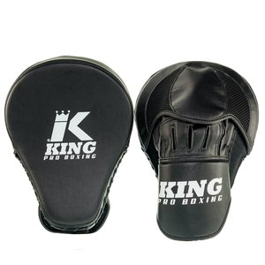 King Pro Boxing King Pro Boxing Handpads Focus Mitts Revo Zwart Wit