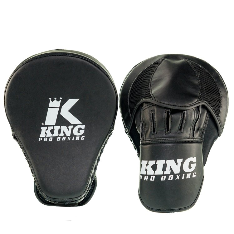 King Pro Boxing King Pro Boxing Handpads Focus Mitts Revo Zwart Wit