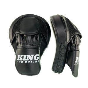 King Pro Boxing King Pro Boxing Hand Pads Focus Mitts Revo Black White