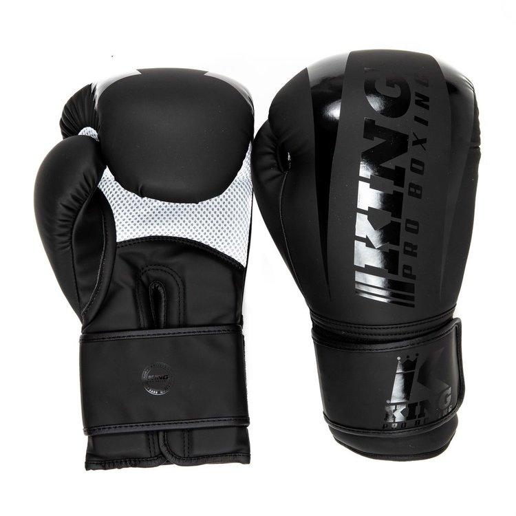 King Pro Boxing King Pro Boxing KPB/REVO 4 Boxing Gloves Black Black