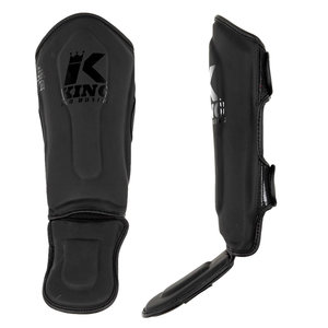 King Pro Boxing King Pro Boxing Shinguards KPB/SG KIDS 3 Black Black