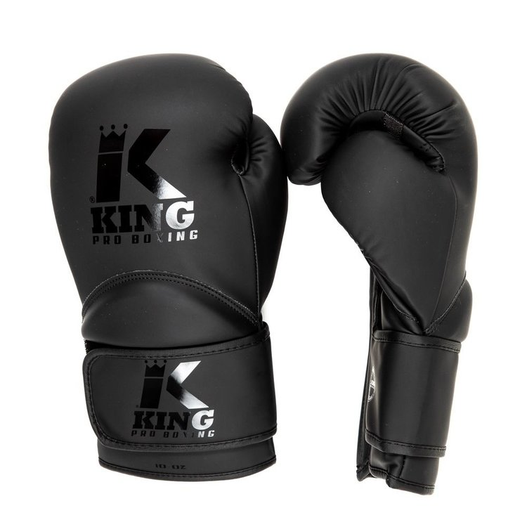 King Pro Boxing King Pro Boxing KPB BG KIDS 3 Boxhandschuhe Schwarz Schwarz