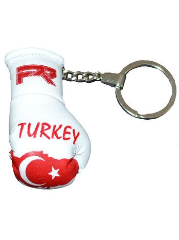 PunchR™  Punch Round Boxing Glove Keyring Flag Turkey