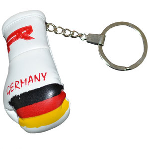 Punch Round™  Punch Round Boxing Glove Keyring Flag Germany