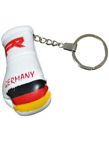 PunchR™  Punch Round Boxing Glove Keyring Flag Germany