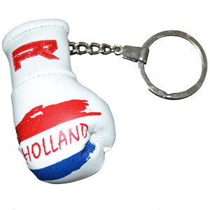 Punch Round™  Punch Round Boxing Glove Keyring Flag Netherlands