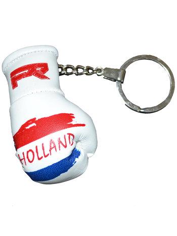 PunchR™  Punch Round Boxing Glove Keyring Flag Netherlands
