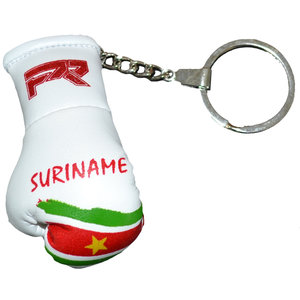 Punch Round™  Punch Round Boxing Glove Keyring Flag Suriname