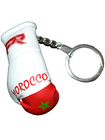 PunchR™  Punch Round Boxing Glove Keyring Flag Marocco