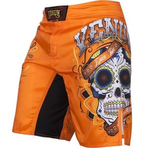 Venum Venum Fight Shorts Santa Muerte 2.0 Orange