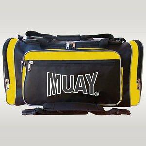 MUAY® MUAY® Classic Sporttas Zwart Geel Muay Sports Wear