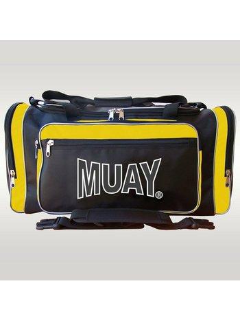 MUAY® MUAY® Classic Sports Bag Black Yellow Muay Sports Wear