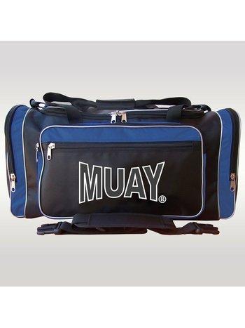 MUAY® MUAY® Classic Sports Bag Black Blue Muay Fightgear
