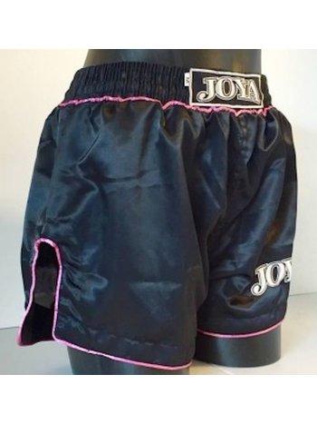 Joya Fight Wear Joya Dames Kickboxing Shorts Fighter Black Pink