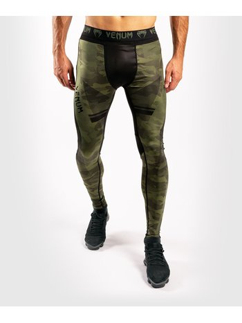 Venum Venum Trooper Spats Tights Forest Camo Black