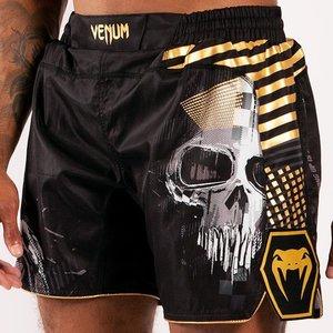 Venum Venum Skull Fightshorts Black Gold
