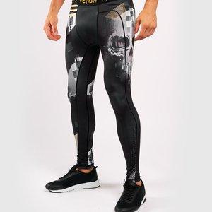 Venum Venum SKULL Legging Spats Tights Zwart Goud