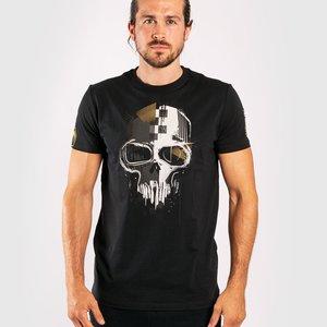 Venum Venum Schädel T-Shirts Schwarzes Gold