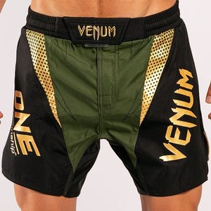 Venum VENUM X ONE FC Fight Shorts Khaki Gold