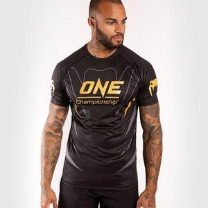 Venum Venum X ONE FC Dry Tech T-Shirt Black Gold