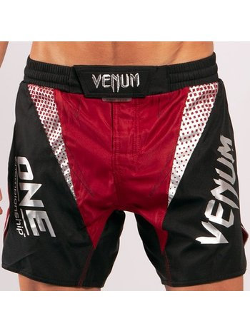 Venum VENUM X ONE FC Fightshort Rood Zwart
