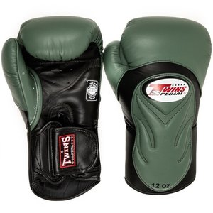 Twins Special Twins Boxing GlovesBGVL 6 Black Olive Green