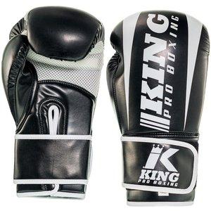 King Pro Boxing King Pro Boxing KPB/REVO 1 Bokshandschoenen Zwart Wit