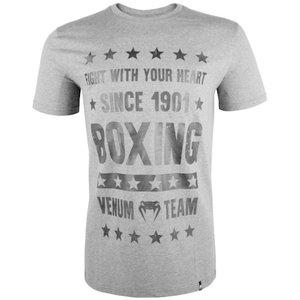 Venum Venum Boxing Origins T Shirt Grey