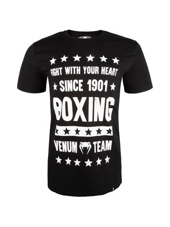 Venum Venum Boxing Origins T-Shirt Schwarz