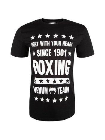 Venum Venum Boxing Origins T-shirt Zwart