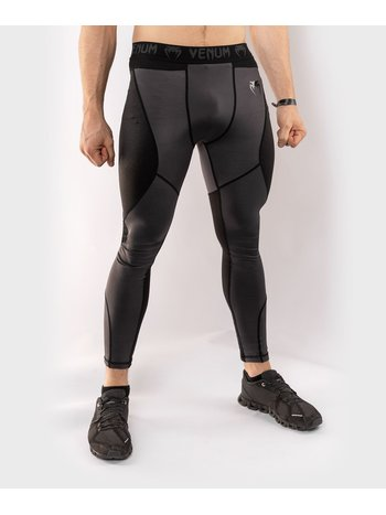 Venum Venum Legging G-Fit Compression Pants Grey Black