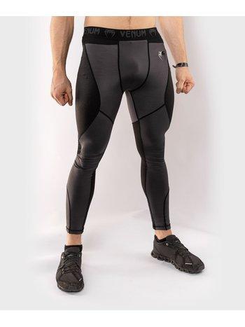 Venum Venum Legging G-Fit Kompressionshose Grau Schwarz